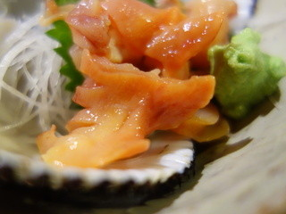 食彩ずいちょう - 活赤貝(¥900位)