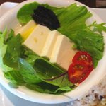 かどっこ - 豆腐サラダ