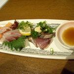 いかさまや - 料理写真:刺身3種盛り