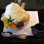 小倉山荘カフェ - 夏果の色(\864、2015年7月)