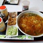 井上食堂 - Gタイプ 鳥ガラスープ 醤油ラーメン+加藤製麺