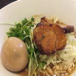 旬麺晴れる家 - 冷麺アップ