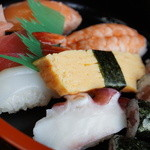 ぎふ初寿司 - 並寿司970円