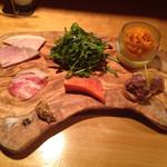 bisutoroandobarusupu-mpurasu - 前菜盛合せ 6品
