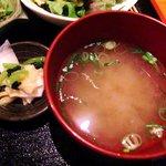 夢のつづき - 夢のつづき @日本橋兜町 味噌汁とお新香