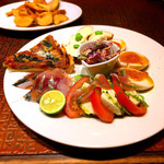 野菜とビストロ Baarm - tapas盛