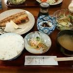 季節料理 なかはら - 「サバ塩焼定食」 ¥850(税込)