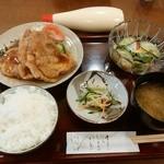 季節料理 なかはら - 「豚生姜焼定食」 ¥900(税込)