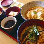 九重 - 日替り カツ煮定食840円
