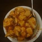 日本橋焼餃子 - セットのミニ陳麻飯