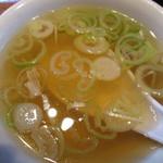 つるつるかめや - このスープもいい。             27.9.8