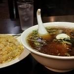 中華料理 菜香菜 - チャーハンとラーメンセット