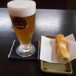 おざきや 美観地区店 - ビールセット 800円