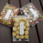 豆吉本舗 倉敷店 - どん辛柿の種・スイートポテト・田舎五色豆