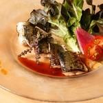 2ndCafe - 鮮魚のカルパッチョ