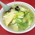 中華料理 宝楽 - タンメン
