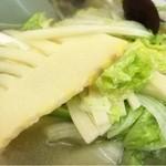 中華料理 宝楽 - タケノコ