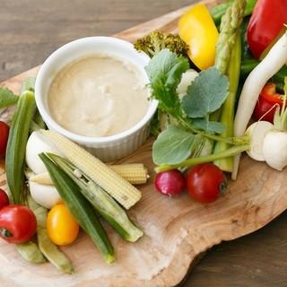 たっぷり野菜が食べられる『VEGETABLEBOARD』
