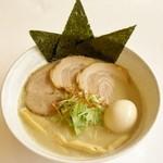 豊屋 - 料理写真:鳥そば塩(トッピング全増し)