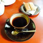 Kougenshakohikan - 深煎りコーヒー と クルミクッキー