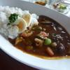 遊の丘 - 料理写真:季節の野菜カレーセット