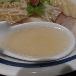 麺's ら.ぱしゃ - ぱしゃ塩らーめん \700