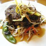 小さなレストラン てら川 - 料理写真:ハンバーグ