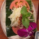 Cho Lon - 青パパイアのサラダ