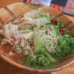 かど家 - 料理写真:豚しゃぶ鯛ネギらーめん☆