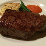 41701739 - 炭焼きサーロインのステーキ