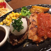 けん - 料理写真:和風ハンバーグとチキングリル