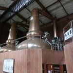 ニッカウヰスキー仙台工場 宮城峡蒸留所 - 単式蒸溜器(ポットスチル)バルジ型