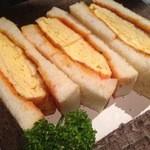 天神橋サンボア - 厚焼き玉子サンド