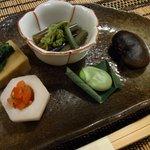 杓凪華 - 料理写真:旬野菜の吹き寄せ