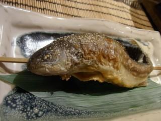 杓凪華 - 岩魚の炭火焼き