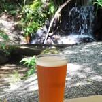 41710503 - ホテル木曽路 のバーベキュー場限定商品の KISOJI BEER ナイアガラ ペール エール 500円(税別) です。やや酸味のある、とてもフルーティーなお味の生ビールです。