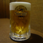 炭焼肉 石田屋。 - ■生ビール 572円