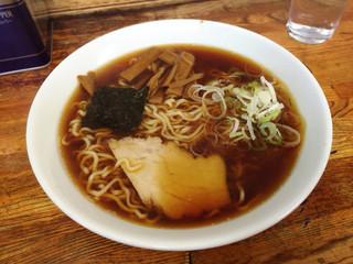 竹の家 - ラーメン580円