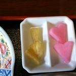 デジャヴ - パイン黒酢 大根梅酢ピクルス