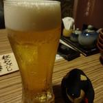 霧乃個室 清郎 - 生ビール