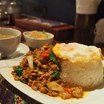 タイレストラン Smile Thailand - ガパオセット