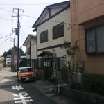 山六 そば店 - 東武日光から左手、路地を入ります。