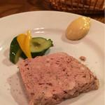 41715239 - 豚肉と鶏肉のレバーパテ。