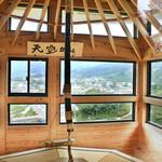 和束茶カフェ - 天空カフェからの眺望(2015.5月)。受付は和束茶カフェで