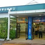 ねぼけ食堂 - 【その他】ねぼけ食堂のある東口は、とても小さい駅舎