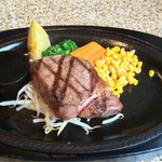 あ・かうはーど - 「黒毛和牛サーロインステーキ 150g」4800円