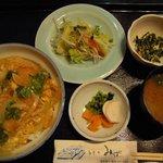 和食処みずの - 日替わり カツ丼定食