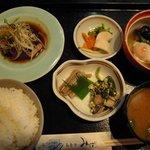 和食処みずの - 日替わり 鰹のたたき定食