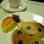 吉祥果 - フォカッチャとコーヒーのセット