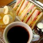 喫茶 パール - ハムセット